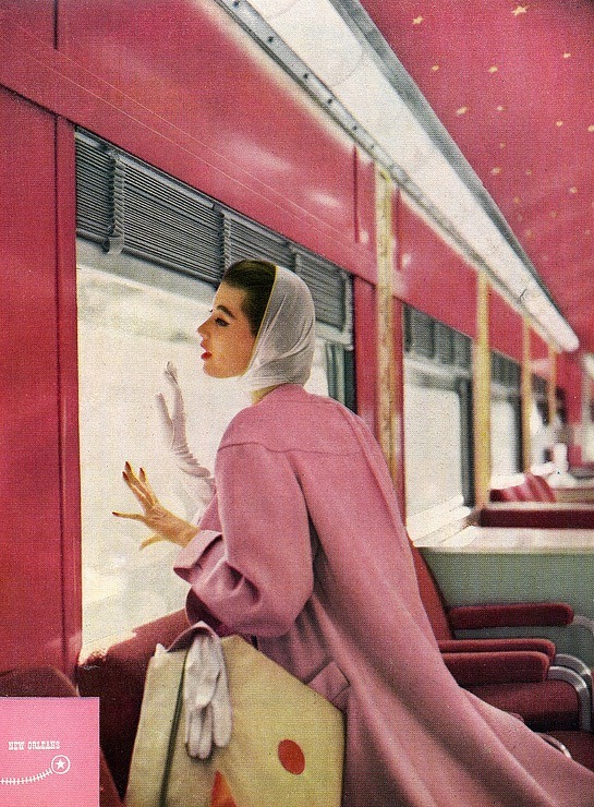 theniftyfifties:&lt;/p&gt;<br /> &lt;p&gt;1950s coat fashion in pink.&lt;br /&gt;<br /> &#8221; /><img class=