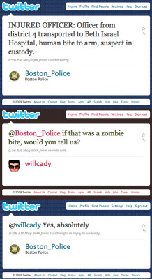 Zombies in Boston