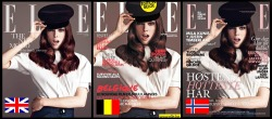 ivyROW: Coco Rocha for International Elle magazine covers