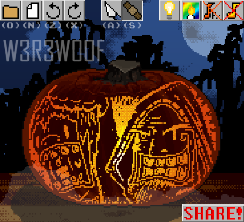 'Need a light, laddy?'Made with Carve n' Share on Newgrounds.com. 2011