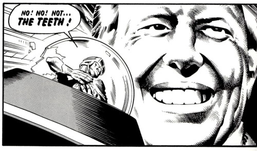 Jimmy Carter claims another victim. From 'The Cursed Earth', Pt 5, Prog 65.