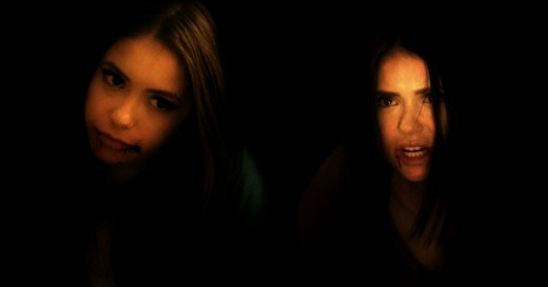 Katherine tries to turn Elena.