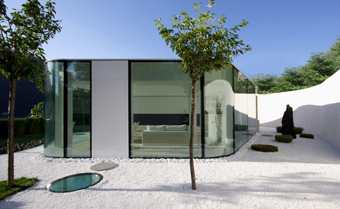 Lake Lugano House, Switzerland / JM Architecture