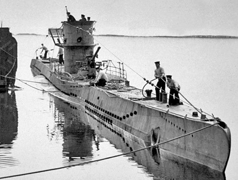 historicnoir:  German U-Boat