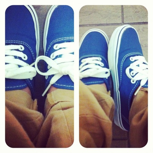 modestmachine:  In desperate need for some more Vans.