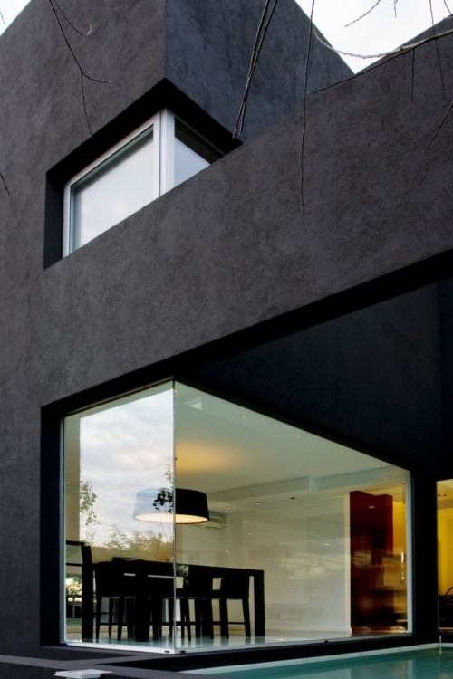 habitualbliss:  Black House Modern Home Design 17