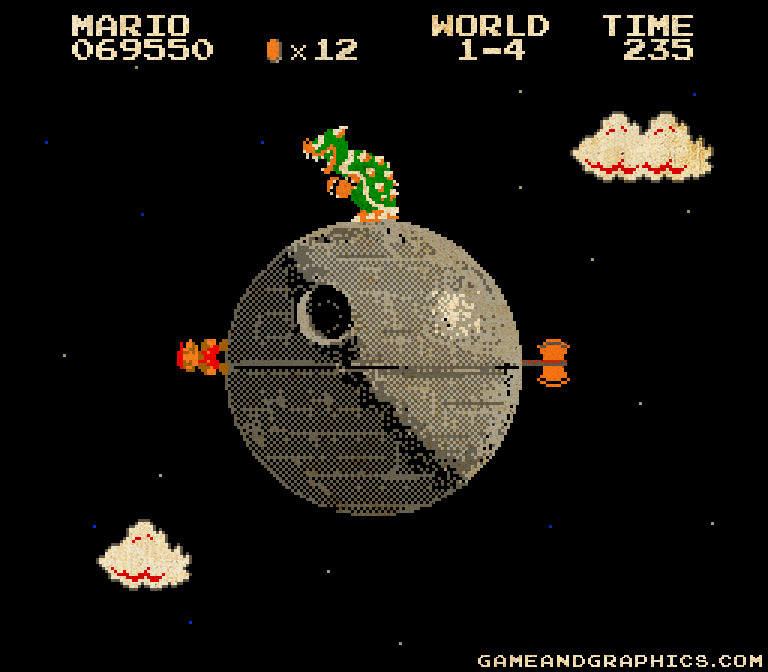 Super Mario Galaxy - 8bit Empire Edition: por Game & Graphics.