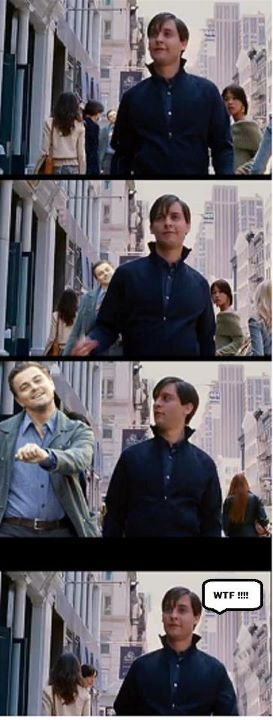 Peter Parker and Leo DiCaprio…
