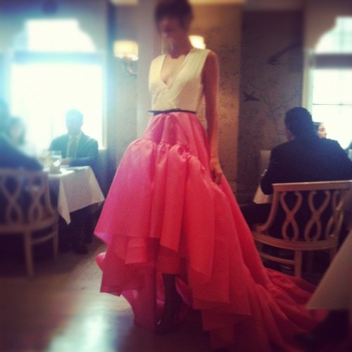 Pretty in…..Jason Wu-James A (Taken with Instagram)