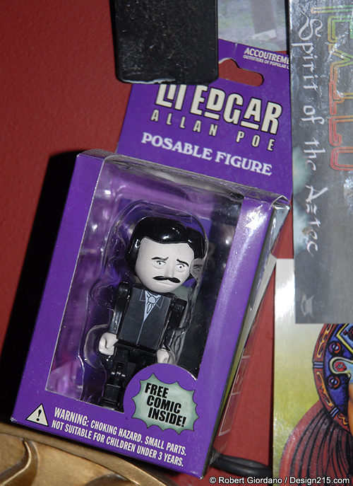 fer1972:  Li'l Poe Toy via Undergrounds Coffeehaus