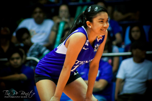 Fille Cainglet Ateneo Lady Eagle jersey #15 Obviously, one of my favorite on court face expression is smile :) and she is indeed one of my favorite subject :P hihihiUAAP Season 73 photo Photographed by:http://tinpebenito.tumblr.com/https://twitter.com/tinpebenito