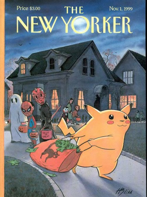 newyorker:  Remember Pikachu? With Halloween approaching, what is the best topical costume this year?