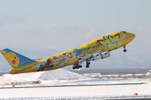 "Pokemon Plane Try not to sing ""gotta crash 'em all."""