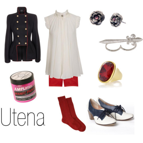 character-inspired-fashion:  Utena  That coat, though!