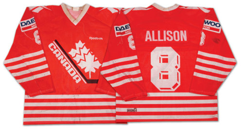 "Team Canada unveiled an alternate special edition third jersey for the upcoming 2012 IIHF World Junior Championships. The jersey features a throwback logo that was used by Team Canada from 1982-1994.""We're looking back over 30 years, and this is the jersey that started it. We won a lot of gold medals with it."" — Bob Nicholson, Hockey Canada president"