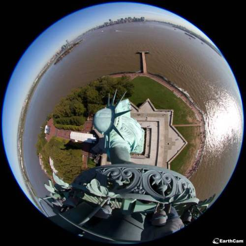 Statue Of Liberty Getting Webcams For Her 125th Birthday: Gothamist