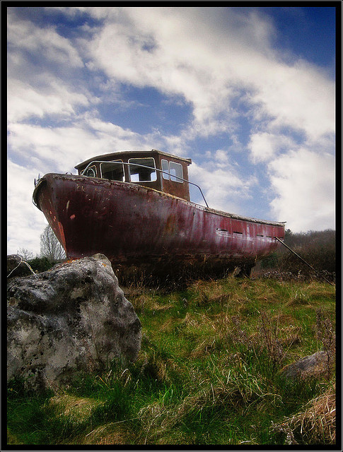 Stranded by Cilest on Flickr.Rust Rulez!!