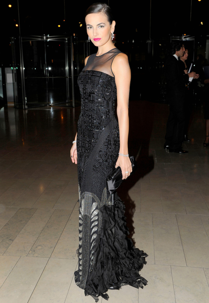Our Look of The Moment goes to Camilla Belle in Ralph Lauren.
