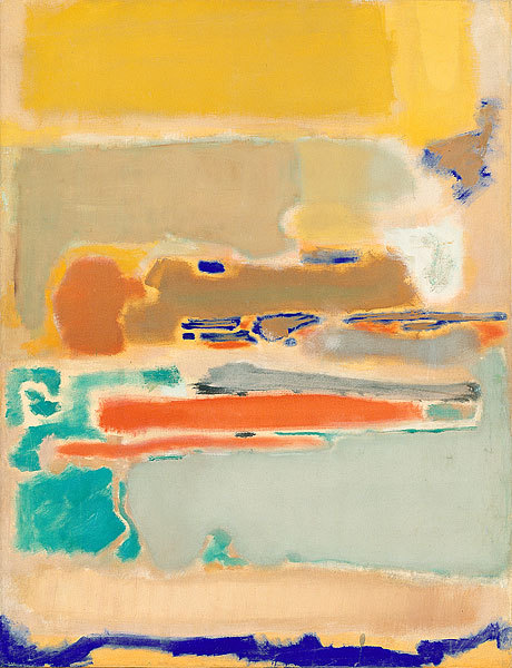 Mark Rothko- Multiform (1948)