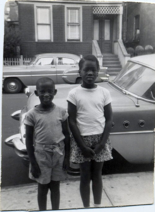Michelle & Junior 1950's [Sharpe Family Album] ©WaheedPhotoArchive, 2011