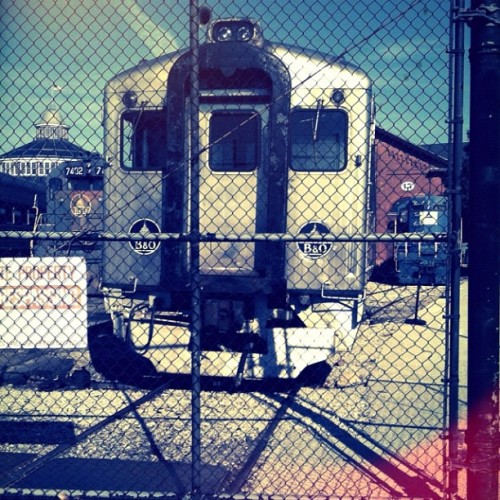 Closer. #transit #train #rail #museum (Taken with Instagram at B & O Railroad Museum)