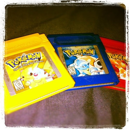 Decisions, decisions, decisions #pokemon (Taken with instagram)
