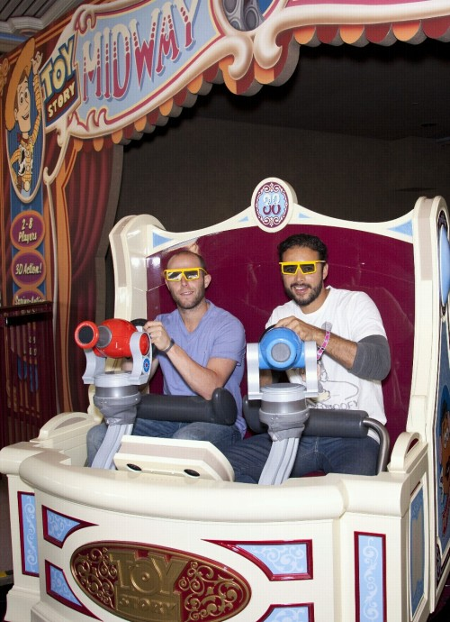 eliagreenluv:  Andre Ethier and Dustin Pedroia: California Adventure!  BBFEAEAE