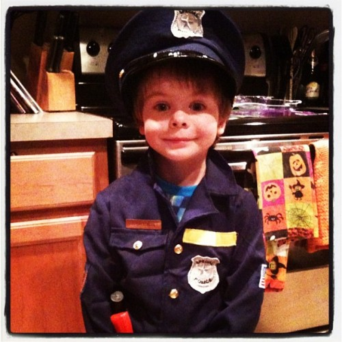 Little man is on patrol!!! (Taken with instagram)