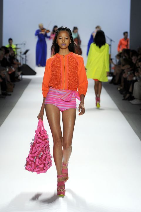 Spring 2012: charlene almarez sears the runway