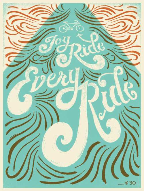 Joy ride every ride by Mary Kate McDevitt
