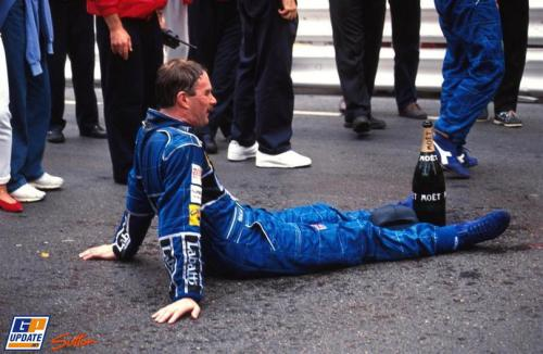 "Nigel Mansell, Monaco, 1992. He finished second behind Senna. After pitting towards the end of the race, the Manx driver had fresher tyres to go along with his vastly superior FW14B (look carefully, you can even see the active suspension working to make the car lean into corners) but found himself stuck behind the shot tyres of triple world champion Senna. To be fair, Monaco is notoriously tricky to pass at, but that Williams was so much faster in every way than that McLaren by all rights he should have been an easy target. Just watch that video, you can visibly see that the Williams was faster literally everywhere. Senna's performance in 1992 and 1993 with vastly inferior equipment compared to the Williams of Mansell and Prost is probably the greatest testament to his greatness. So often do I hear ""If Hamilton/Vettel/Schumacher/Alonso wasn't in the best car, he wouldn't be that good"", but it is a moot point with Senna because it was whilst in inferior machinery that he performed his greatest miracles."