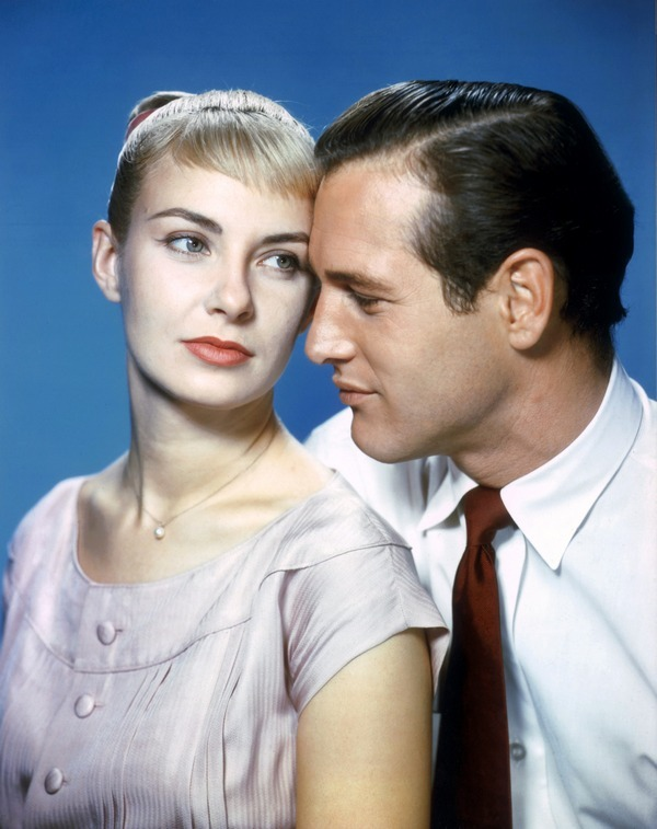 theniftyfifties:  Paul Newman and Joanne Woodward in 'The Long Hot Summer', 1958.  Love them!