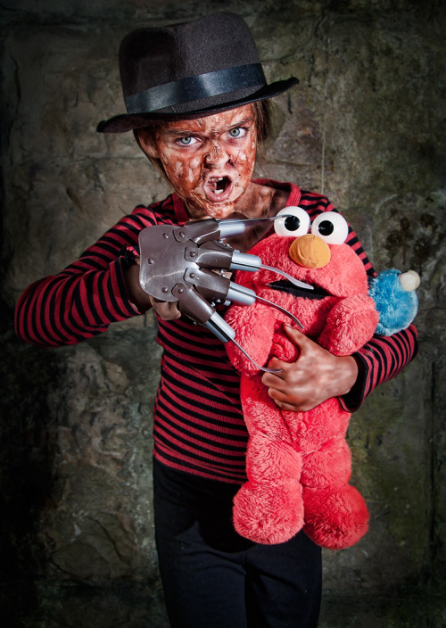 Nightmare on Sesame street by ~Harpyimages