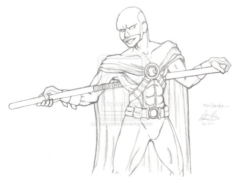 Red Robin :pencil: by =Sakurafire Red Robin in pencil. 1-hour sketch.