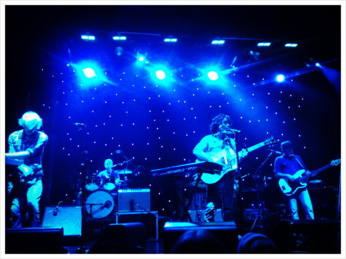 Blitzen Trapper (Taken with picplz at Webster hall in New York, NY.)