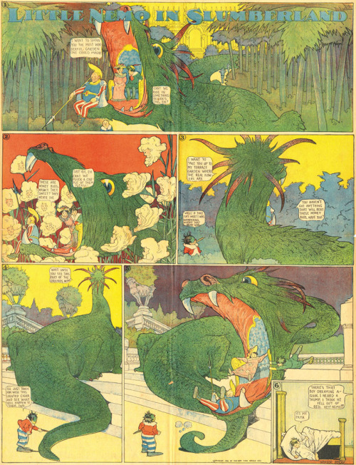 More Little Nemo Adventures in Slumberland, from The Nimbus Factory Blog.