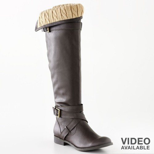 LC Lauren Conrad Tall Boots   (clipped to polyvore.com)