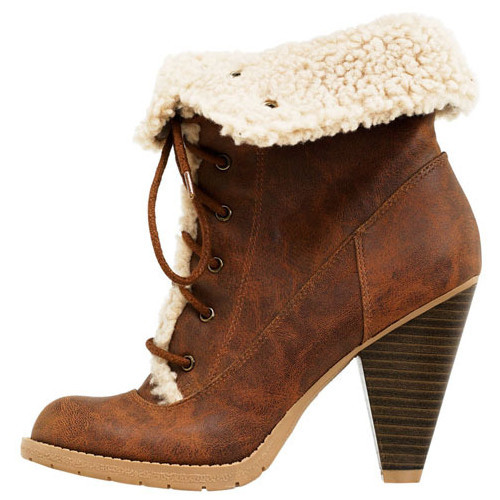 American Eagle - Scout Sherpa Trim Boot   (clipped to polyvore.com)