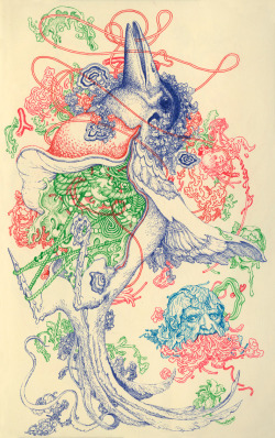 suicideblonde:  Carrier by James Jean