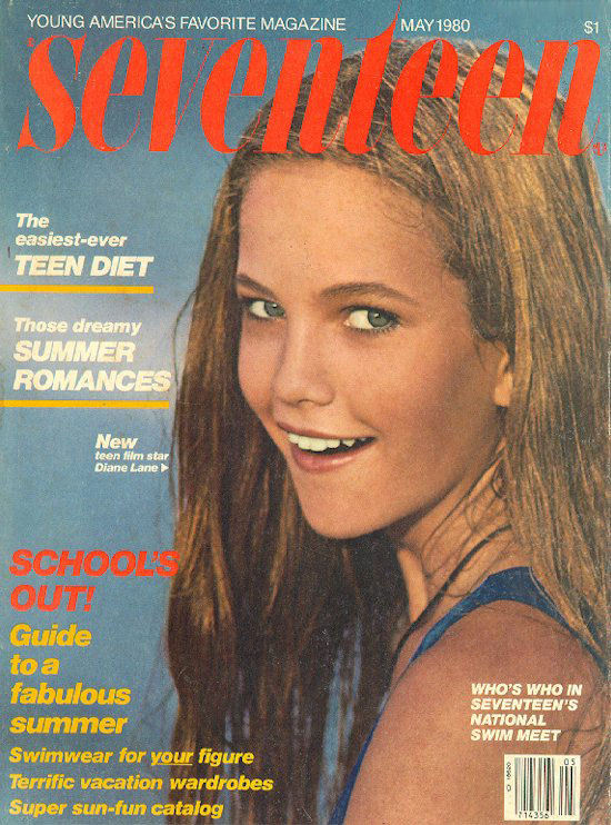 Diane Lane - Seventeen, May 1980