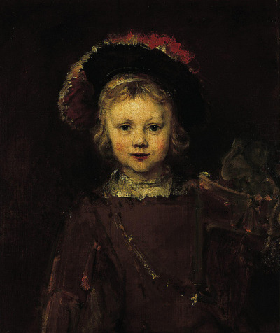 "Rembrandt's son ""Titus"" or ""Portrait of a Boy in Fancy Dress"" c.1655 by Plum leaves on Flickr."