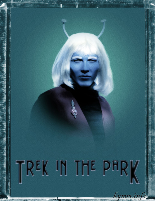 Trek in the Park fanart | by Kimm Hinterberger » Featuring Zachary van Buuren  {via inscrutable-destiny}