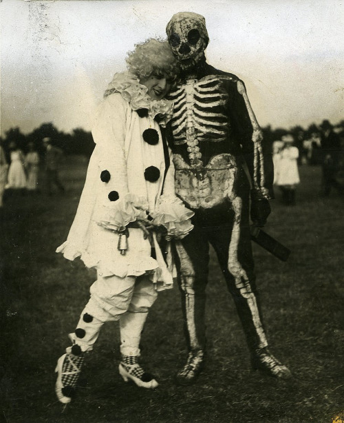 billyjane:  Costumed football match, 1920  from UniOfWestminsterArchives