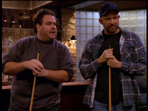 "Jim O'Heir (Parks and Recreation) as ""Walt"" (with Tom Towles, right), 3rd Rock From The Sun (1996)."