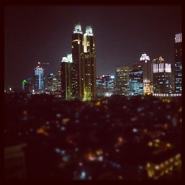 Jakarta at night (Taken with instagram)