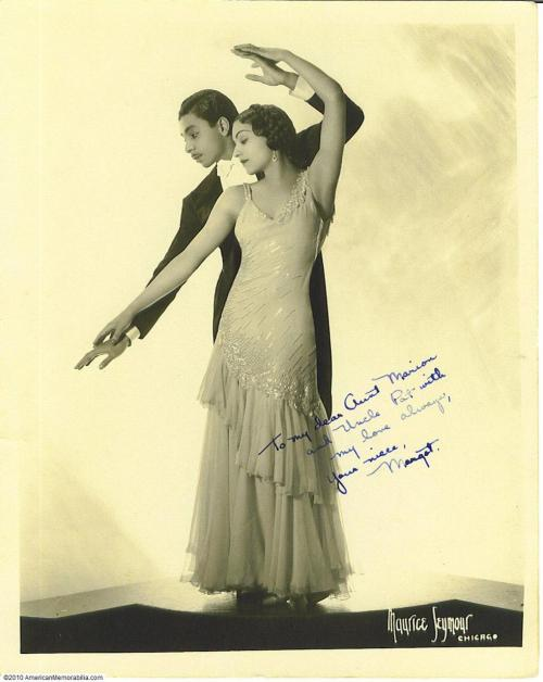 Norton & Margot In Dance Pose (From Cotton Club Ballroom Dancer's Collection)
