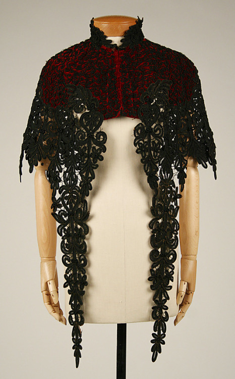 omgthatdress:  Cape 1880s The Metropolitan Museum of Art