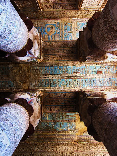 Dendera - Temple of Hathor by WilliamSitu on Flickr.