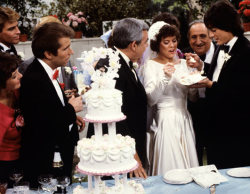 TV wedding: Joanie Cunningham and Chachi Arcola from Happy Days and Joanie Loves Chachi.