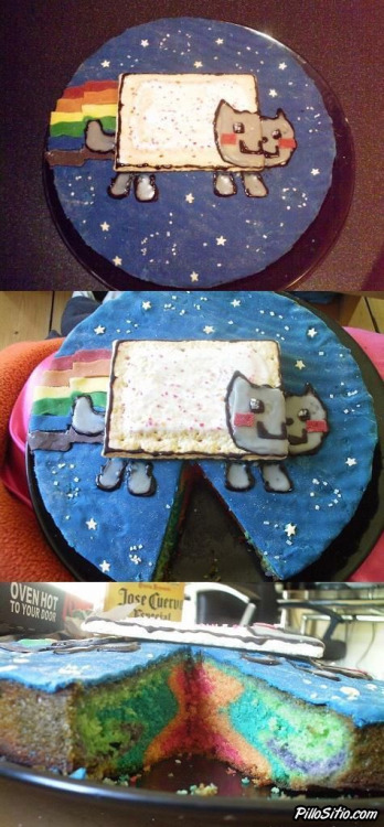 pillositio:  Tarta de Nyan Cat